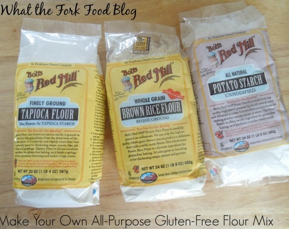 Make Your Own All-Purpose Gluten-Free Flour