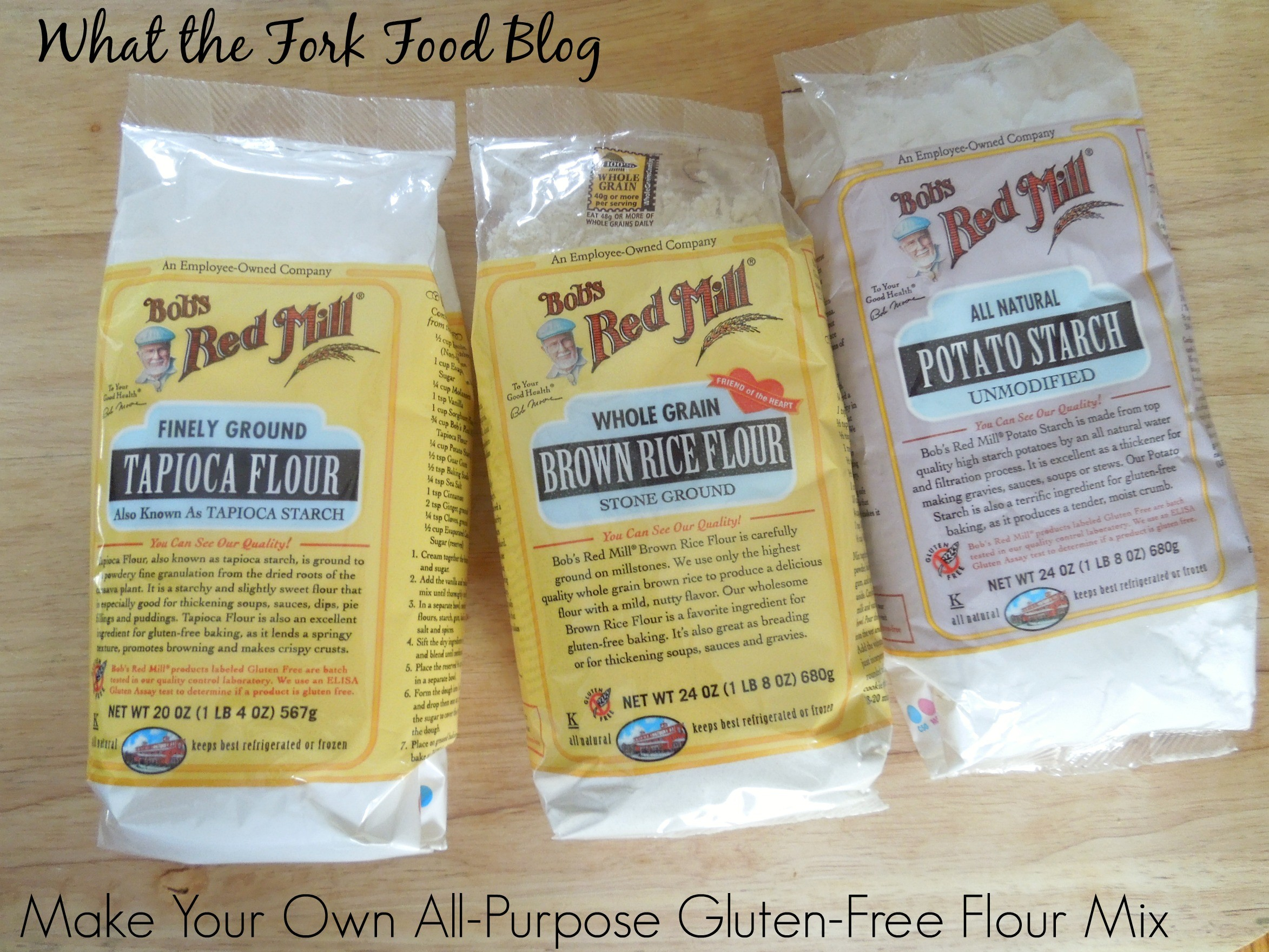 All purpose gluten free flour mix