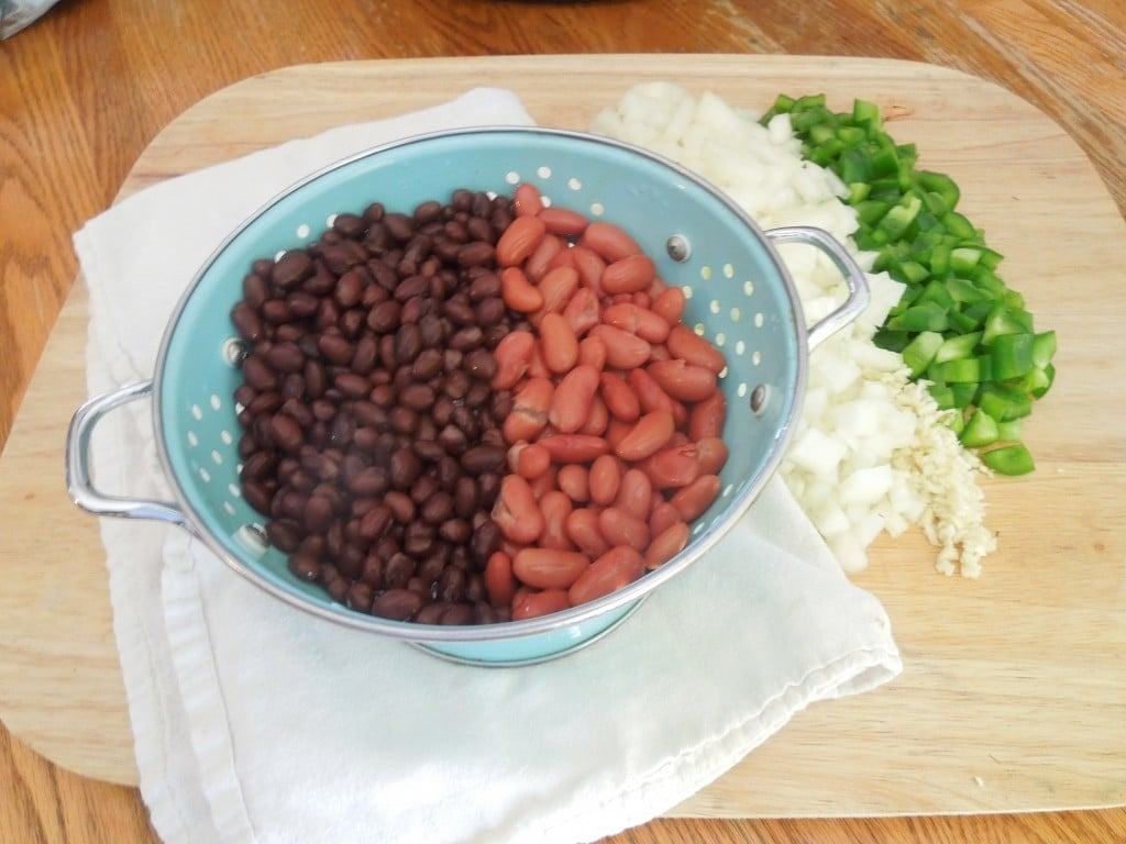 Slow Cooker Chili beans from What the Fork Food Blog