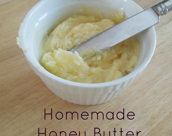 Easy Homemade Honey Butter