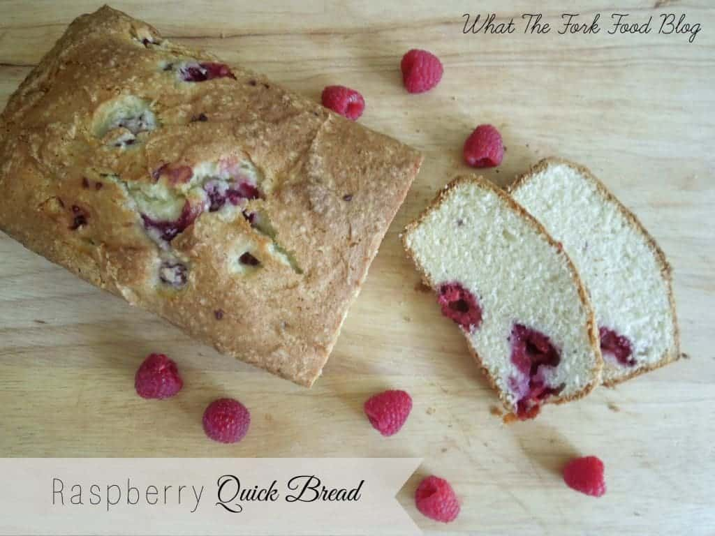 Raspberry Quick Bread What The Fork