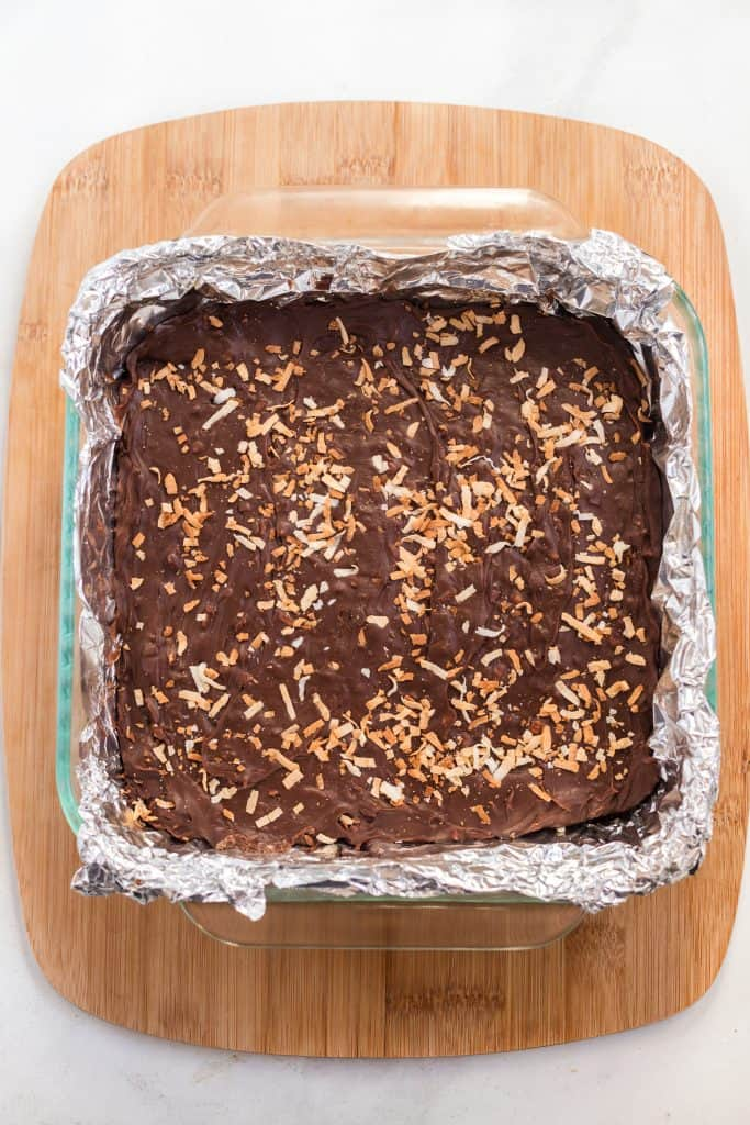 Simple Toasted Coconut Fudge Recipe What The Fork
