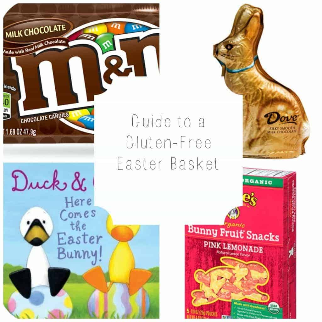 guide to a gluten-free Easter basket from What the Fork Food Blog