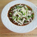 Slow Cooker Chili from What the Fork Food Blog