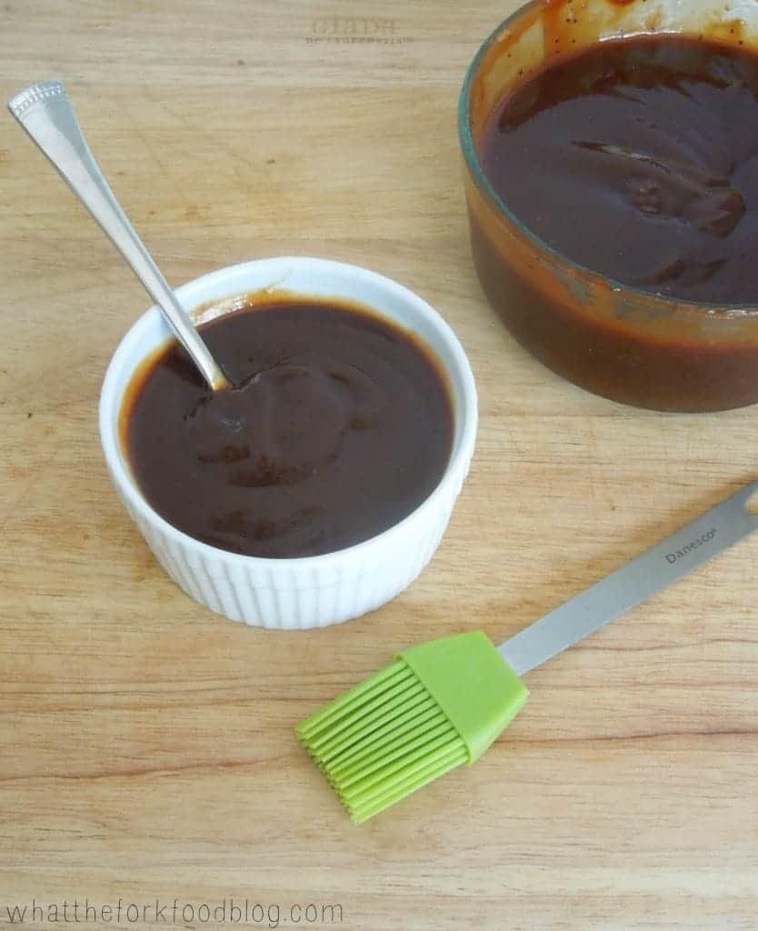 Homemade BBQ Sauce from What The Fork Food Blog