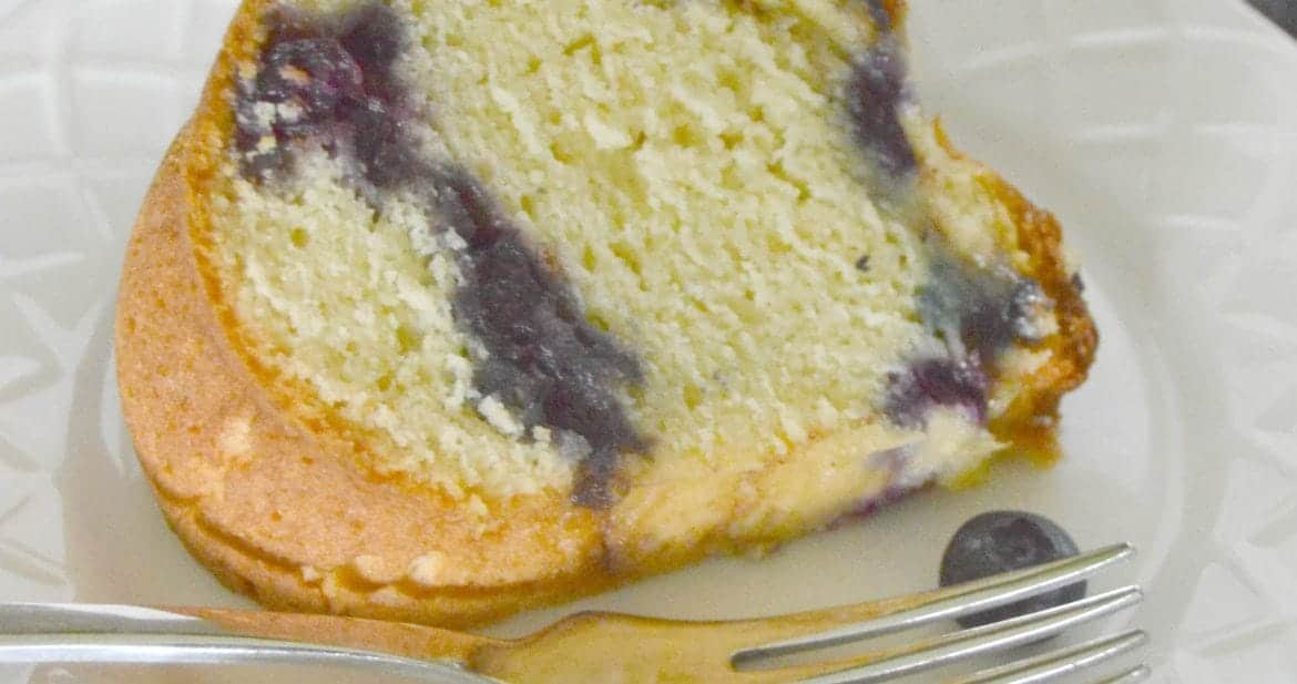 Blueberry Coffee Cake from What The Fork Food Blog
