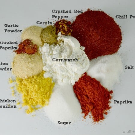 Fajita Seasoning Spices from What The Fork Food Blog