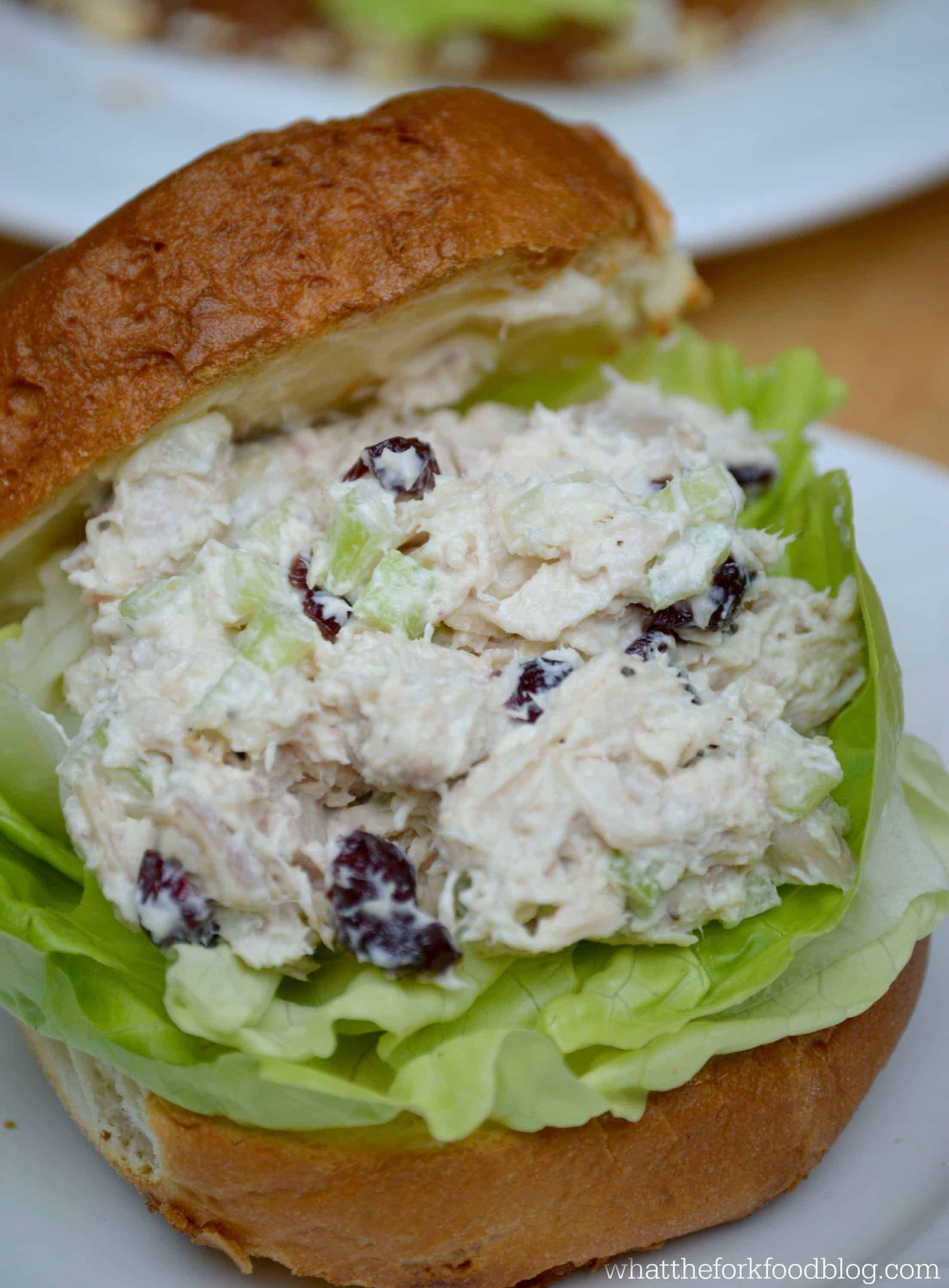 Cherry Craisin Chicken Salad