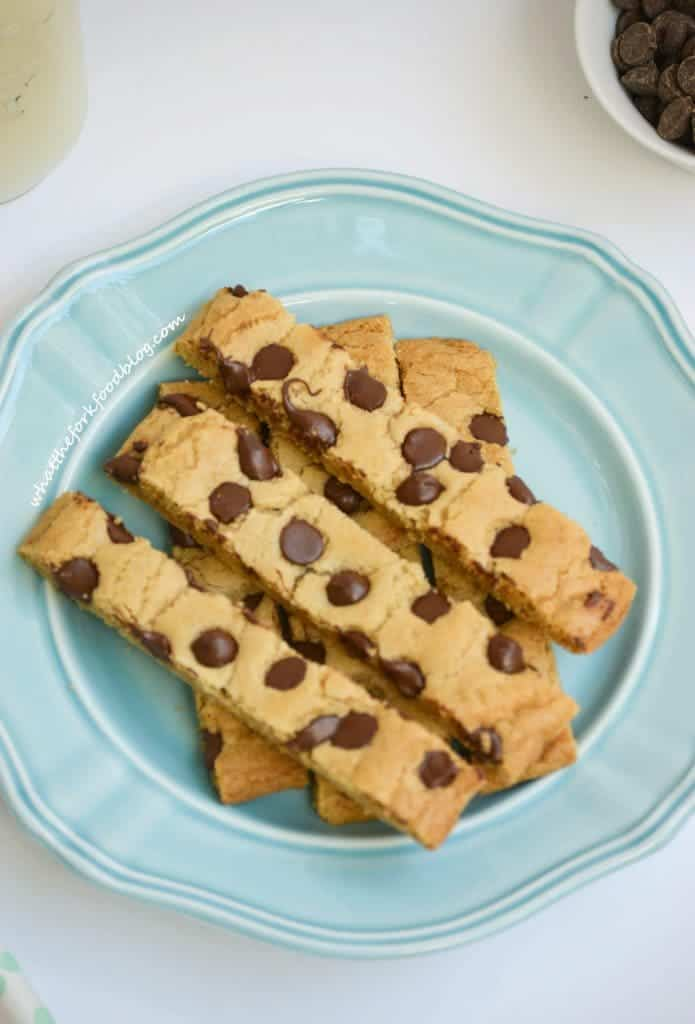 Chocolate Chip Cookie Sticks What The Fork