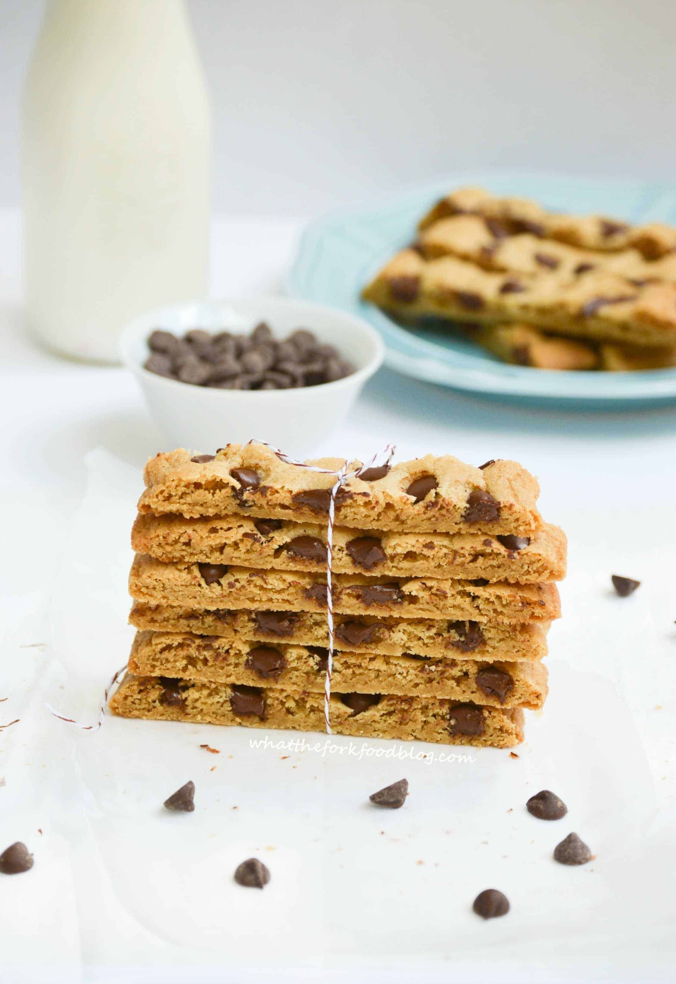 Chocolate Chip Cookie Sticks from What The Fork Food Blog