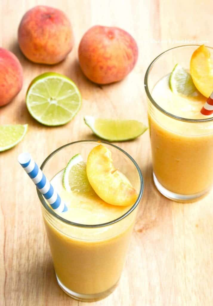 Peach Daiquiris from What The Fork Food Blog