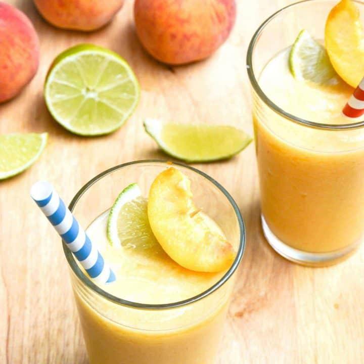 Peach Daiquiris from What The Fork Food Blog