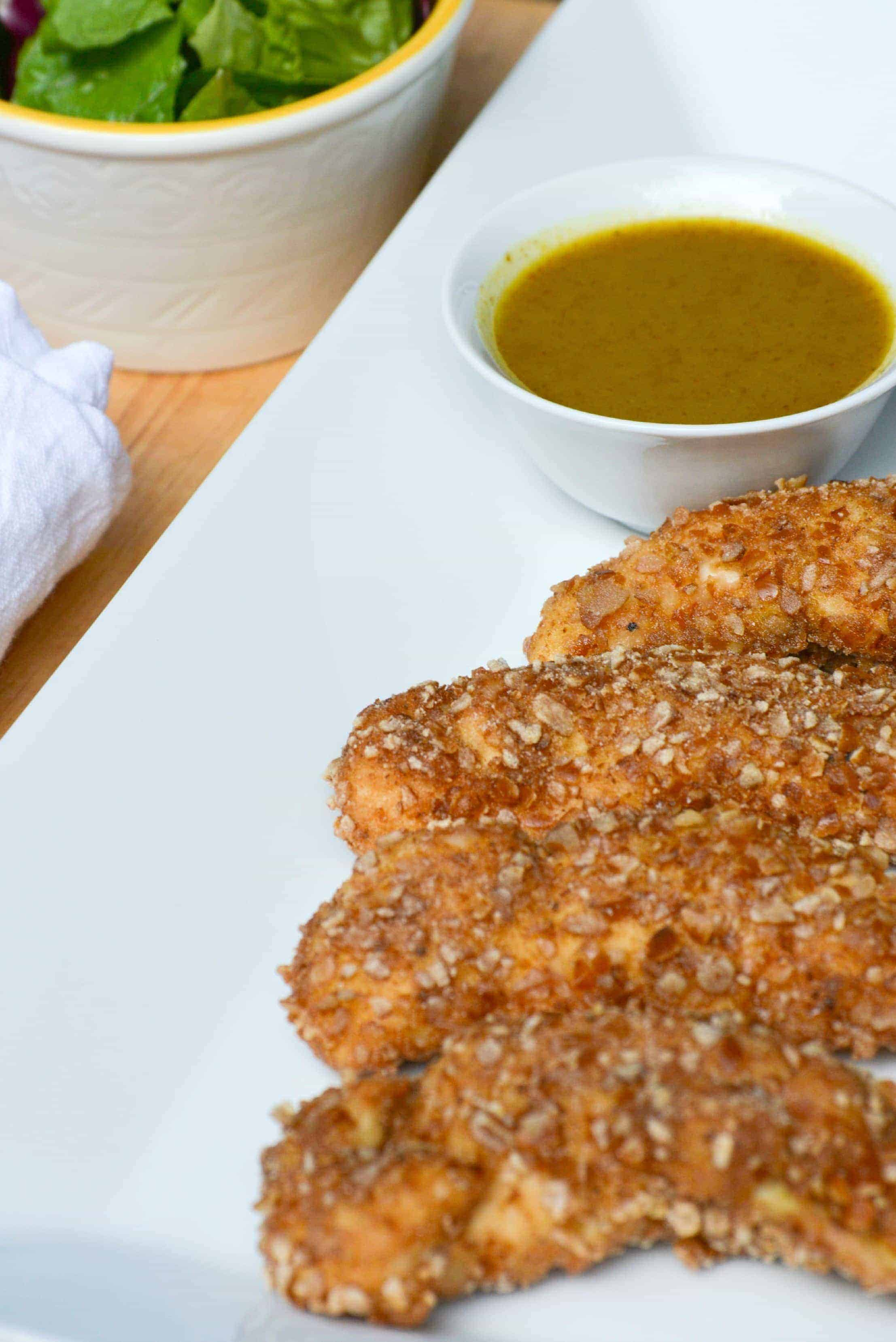 Pretzel Crusted Chicken from What The Fork Food Blog