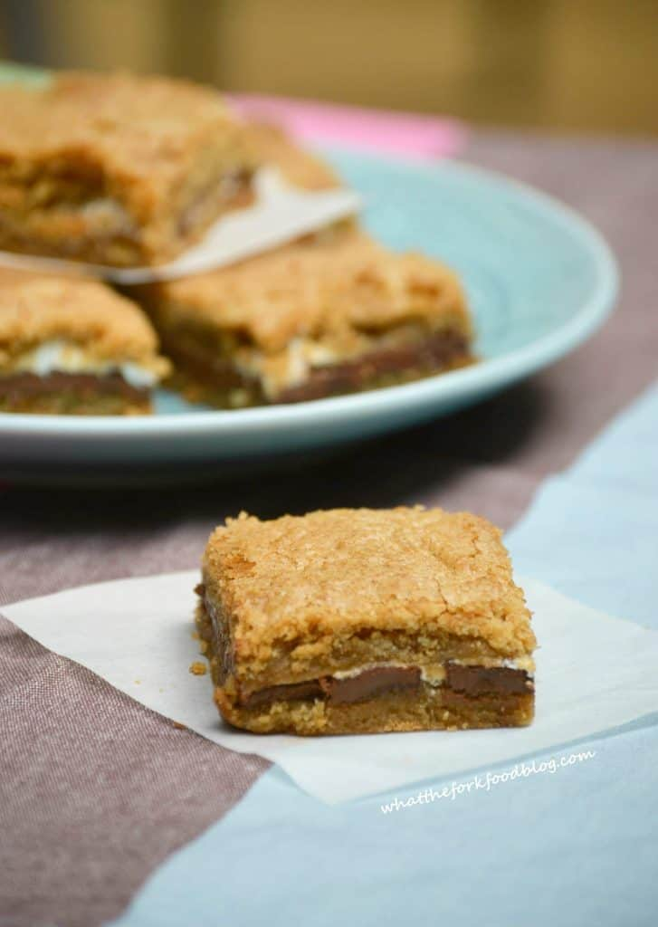 S'mores Bars from What The Fork Food Blog