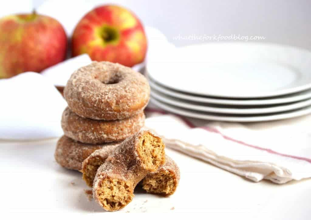 Apple Cider Donuts from What The Fork Food Blog