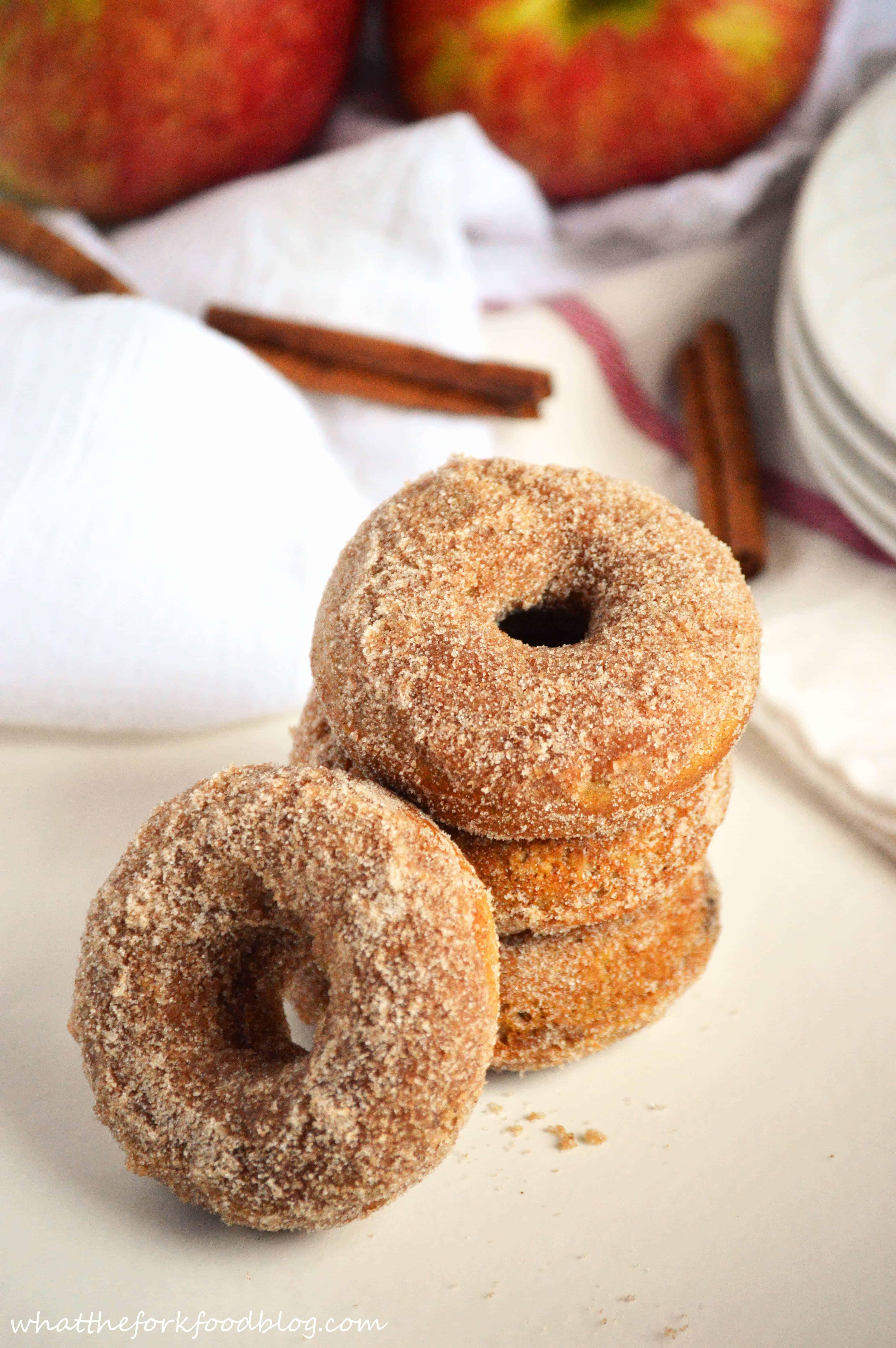 Apple Cider Donuts - What the Fork Food Blog