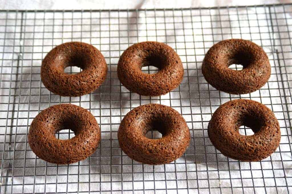 Baked Double Chocolate Donuts from What The Fork Food Blog