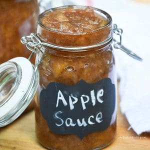 Slow Cooker Cinnamon Applesauce from What The Fork Food Blog