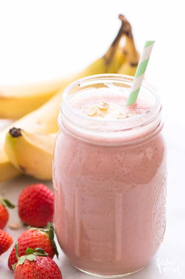 Dairy-Free Strawberry-Banana Smoothie pictures