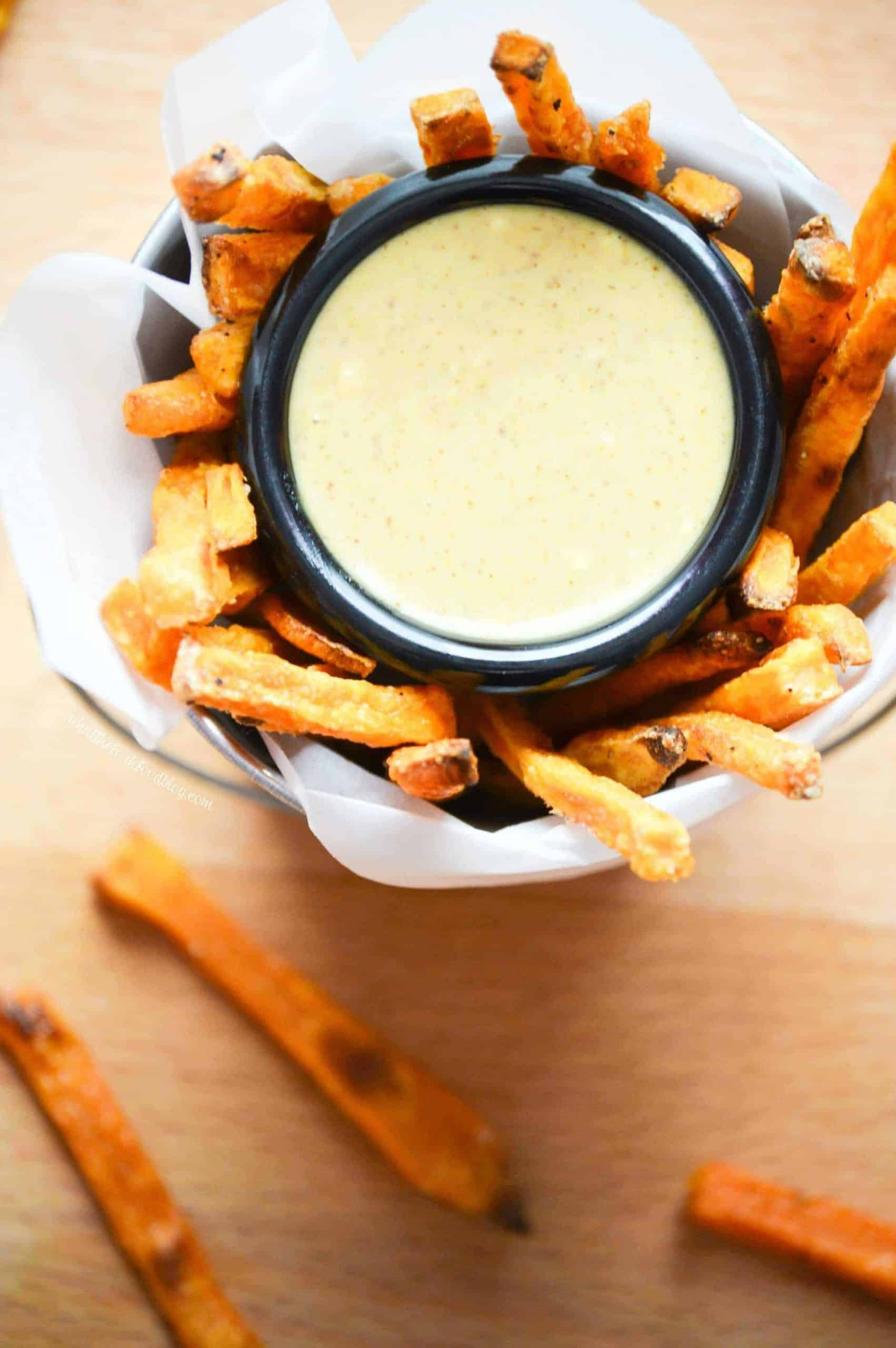 Baked Sweet Potato Fries from What The Fork Food Blog