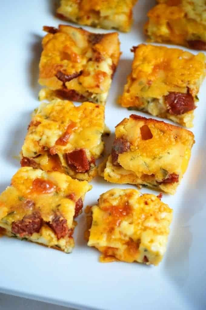 Pepperoni Squares from What The Fork Food Blog