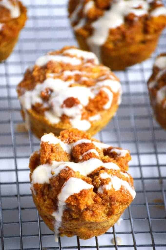Pumpkin French Toast Muffins from What The Fork Food Blog