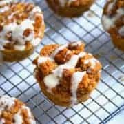 Overnight Pumpkin French Toast Muffins from What The Fork Food Blog