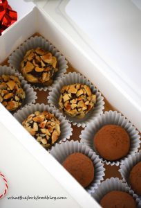 Chocolate Truffles from What The Fork Food Blog