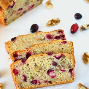 Cranberry Orange Bread from What The Fork Food Blog