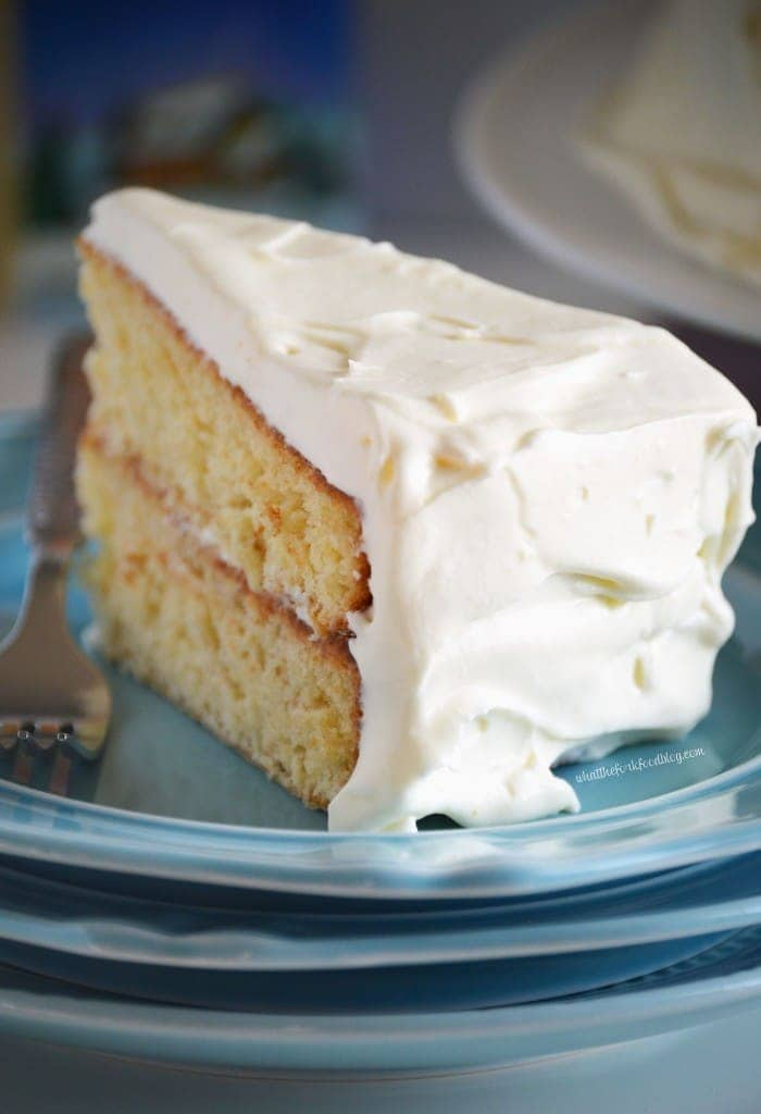 Eggnog Cake from What The Fork Food Blog