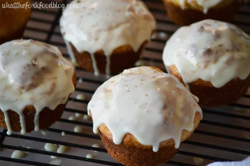 Eggnog Muffins from What The Fork Food Blog