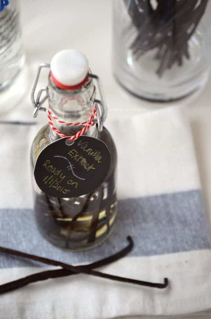 Homemade Vanilla Extract from What The Fork Food Blog