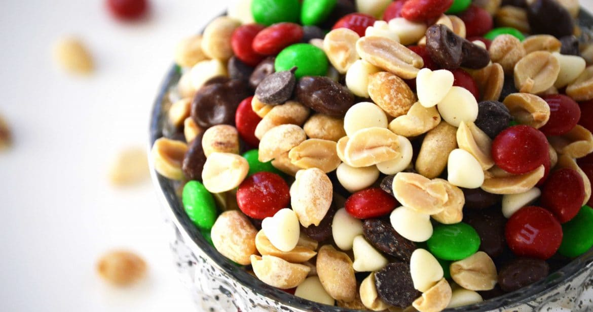 Holiday Trail Mix from What The Fork Food Blog