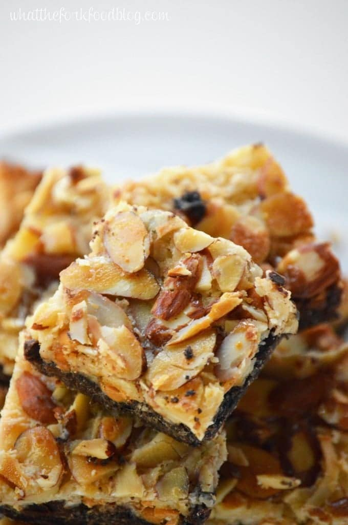 Gluten Free Magic Bars from What The Fork Food Blog