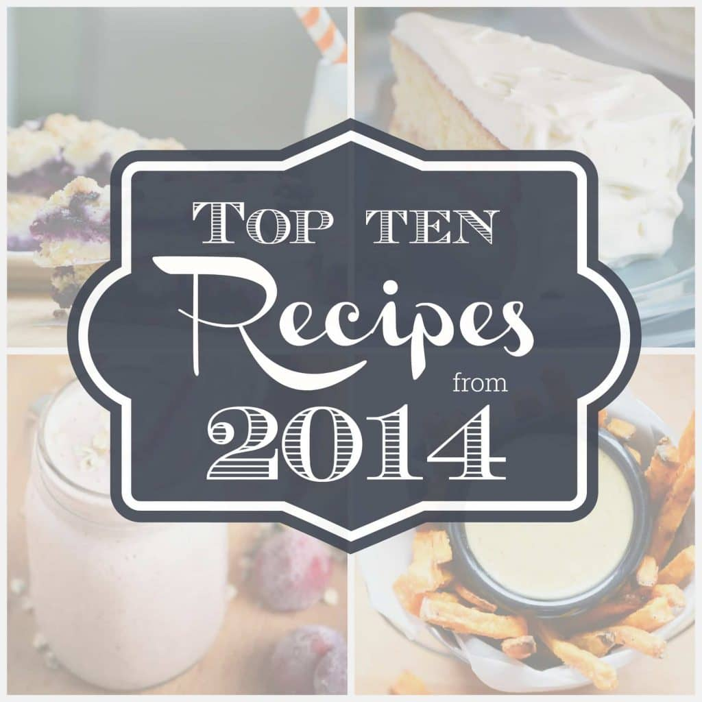 Top Ten Recipes from 2014 from What The Fork Food Blog