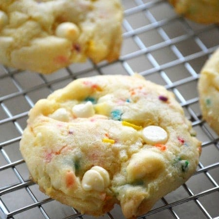 Cake Batter Cookies from The Essential Gluten-Free Cookie Guide What The Fork Food Blog