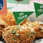 Gluten Free Fried Ravioli from @whattheforkblog | whattheforkfoodblog.com | game day snacks | appetizers