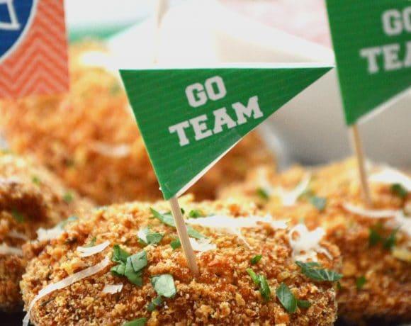 Game Day Snacks: Gluten Free Fried Ravioli