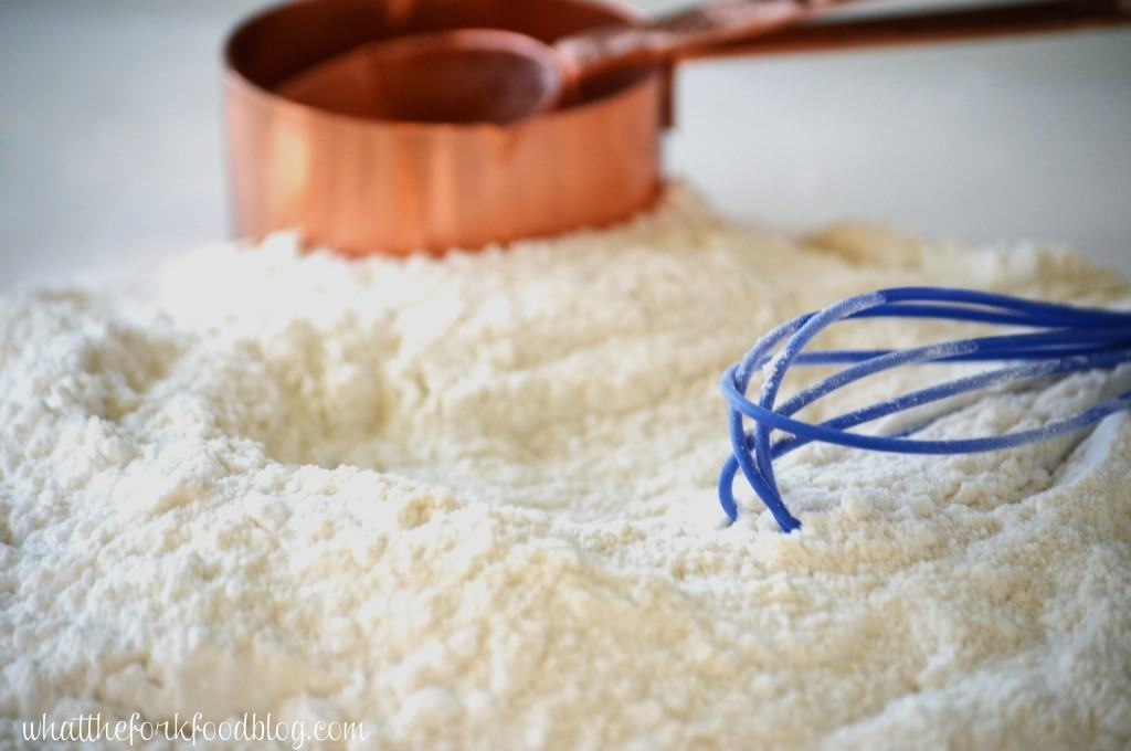 Gluten Free All Purpose White Rice Flour Blend from What The Fork Food Blog