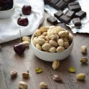 Skinny Nut Pistachio Pairing from What The Fork Food Blog