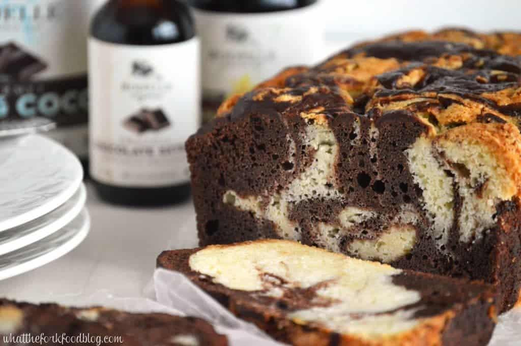 Chocolate Marble Pound Cake Recipe