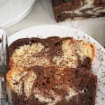 Marble Pound Cake from What The Fork Food Blog