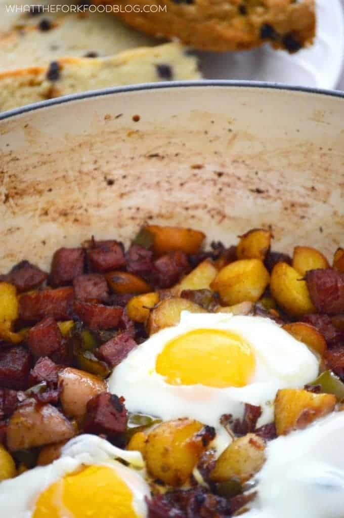 Corned Beef Hash from What The Fork Food Blog