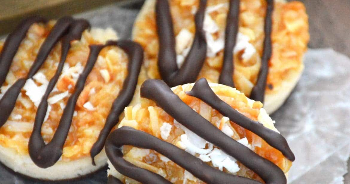 Samoas Cookie Cups from What The Fork Food Blog