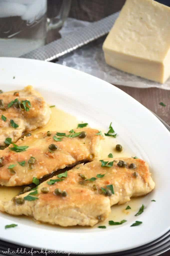 Chicken piccata what the fork chicken piccata from what the fork food blog forumfinder Images