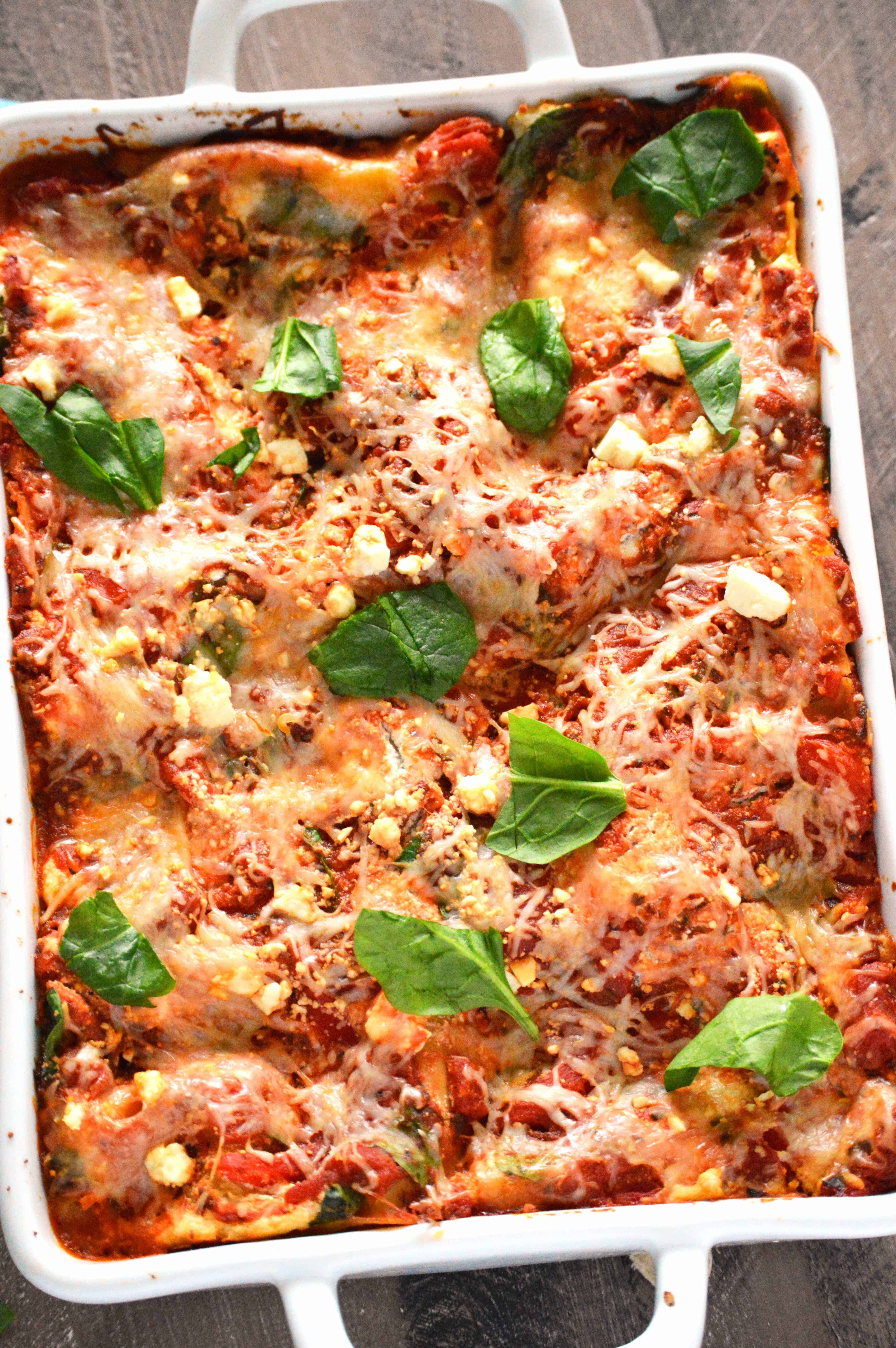 Zucchini Ribbon Lasagna from What The Fork Food Blog