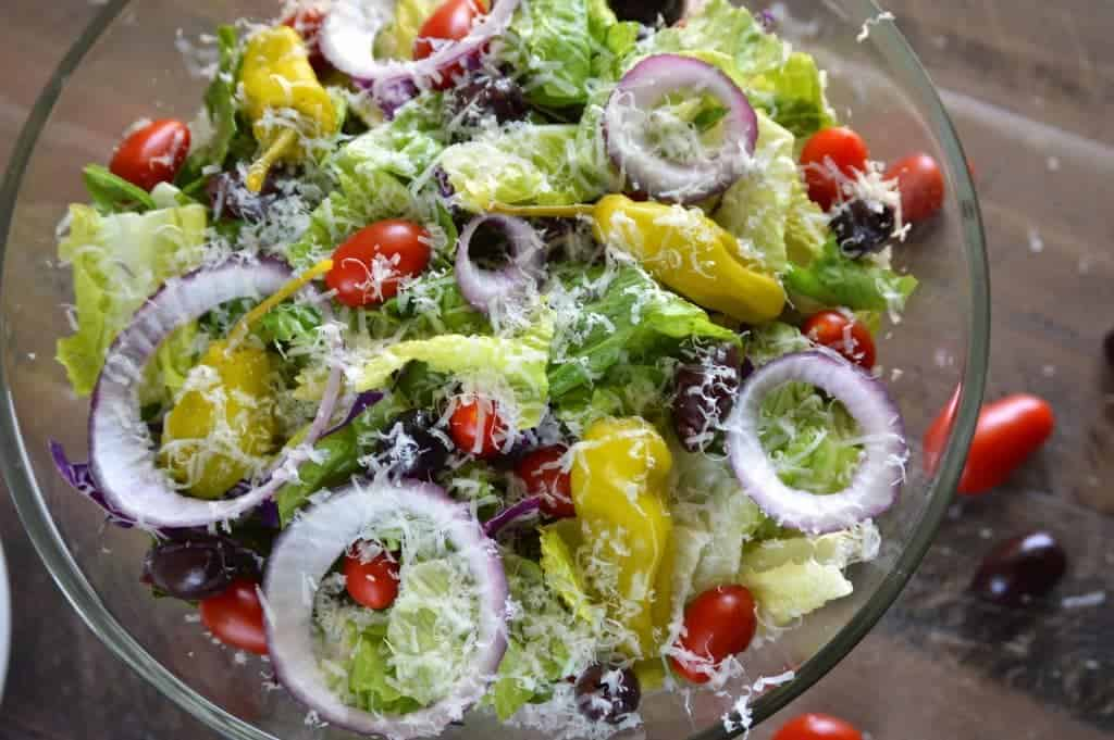 Easy Italian Salad from What The Fork Food Blog | @WhatTheForkBlog | whattheforkfoodblog.com