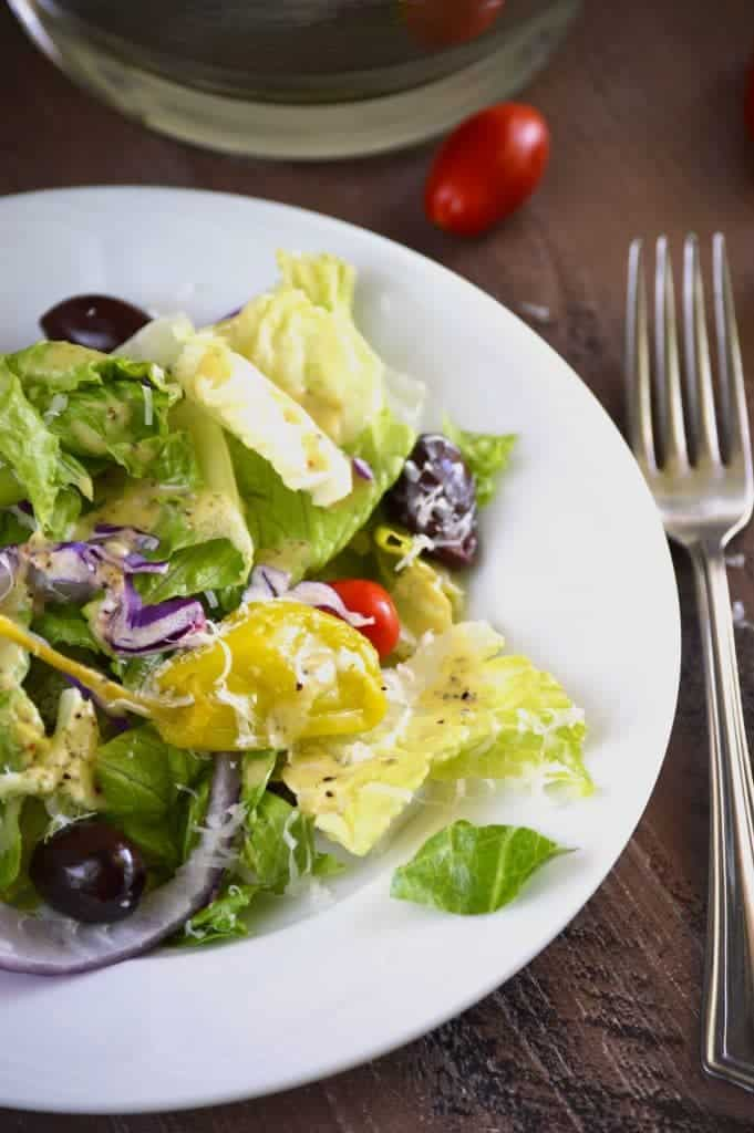 Easy Italian Salad from What The Fork Food Blog   @WhatTheForkBlog   whattheforkfoodblog.com