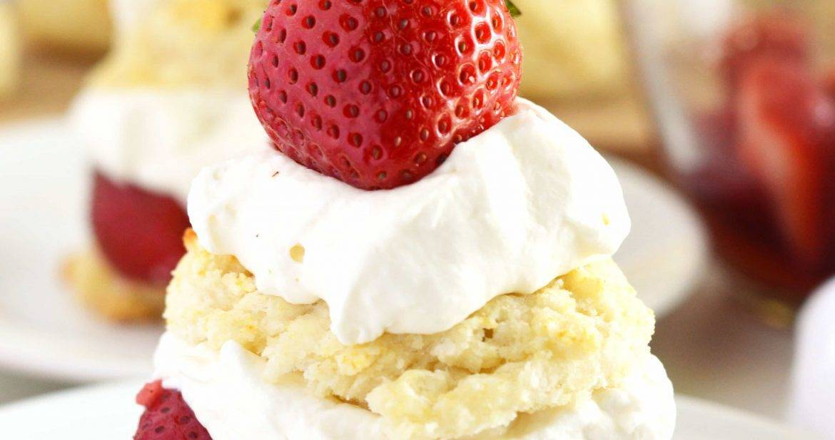 Gluten Free Strawberry Shortcake from What The Fork Food Blog |@WhatTheForkBlog | whattheforkfoodblog.com