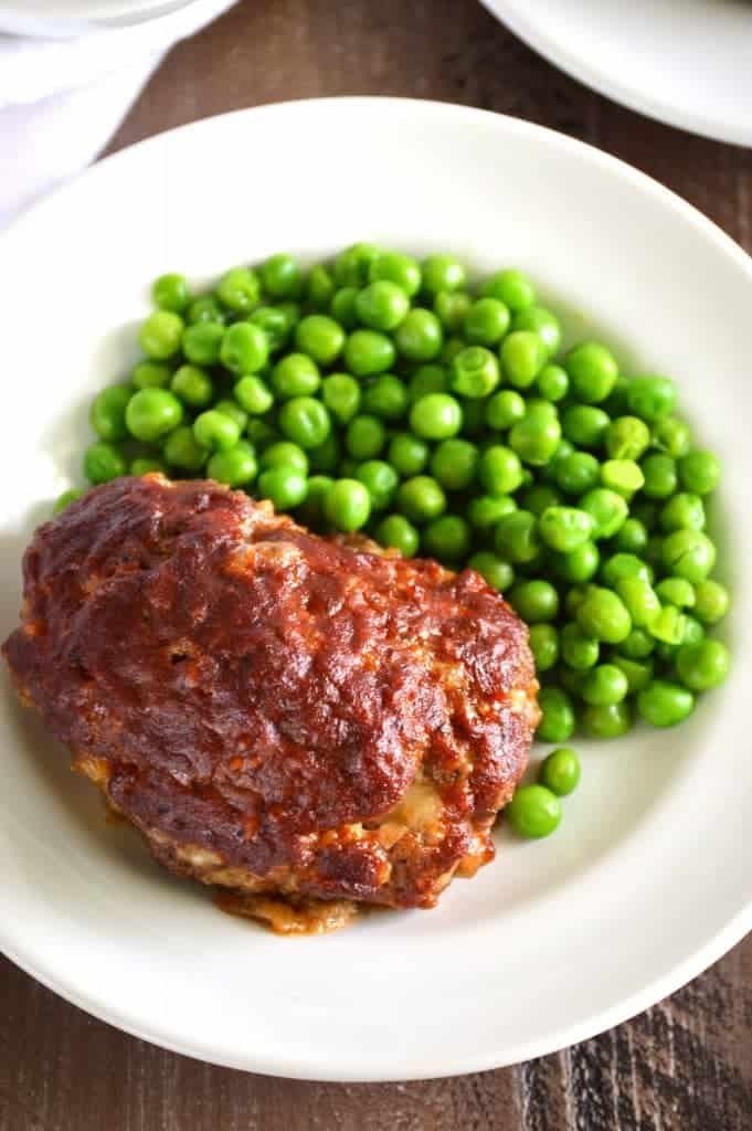 Mini BBQ Meatloaf from What The Fork Food Blog